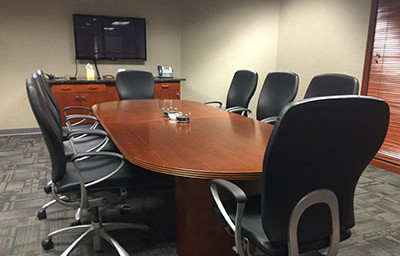 Cincinnati court reporter conference room