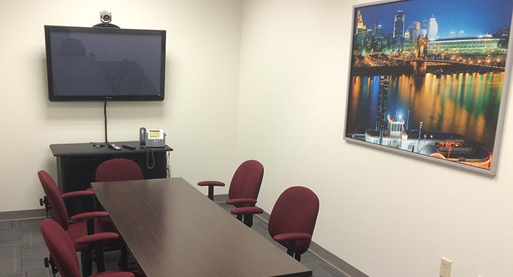 Videoconferencing in Cincinnati Ohio