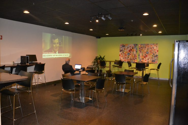 Lounge and common area at our Worthington location