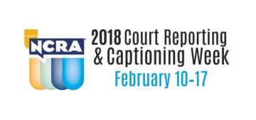 2018 Ohio Court Reporting and Captioning Week