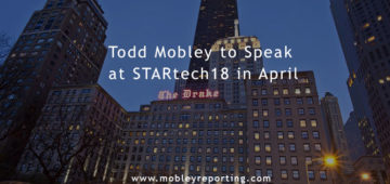 Todd Mobley to Speak at STARtech18 Court Reporting Industry Conference in April