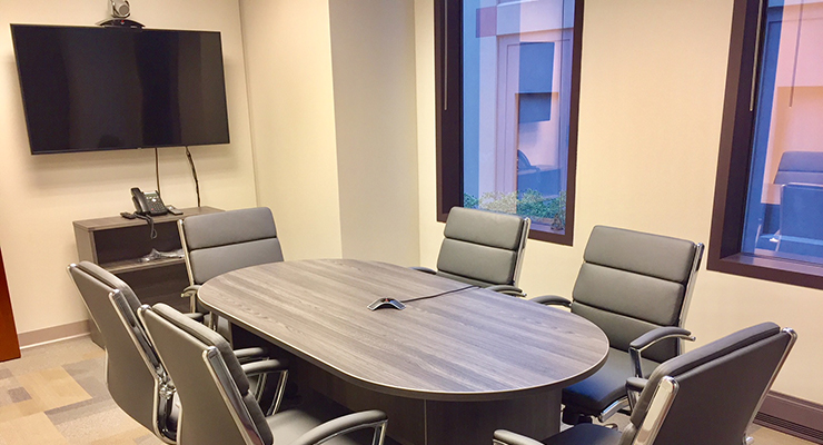 Videoconferencing room in Columbus Ohio
