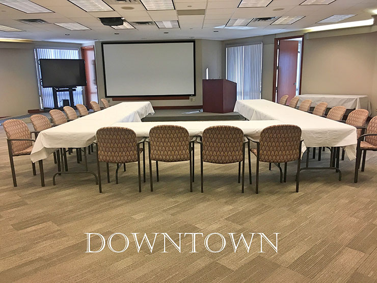Downtown Cincinnati large conference room