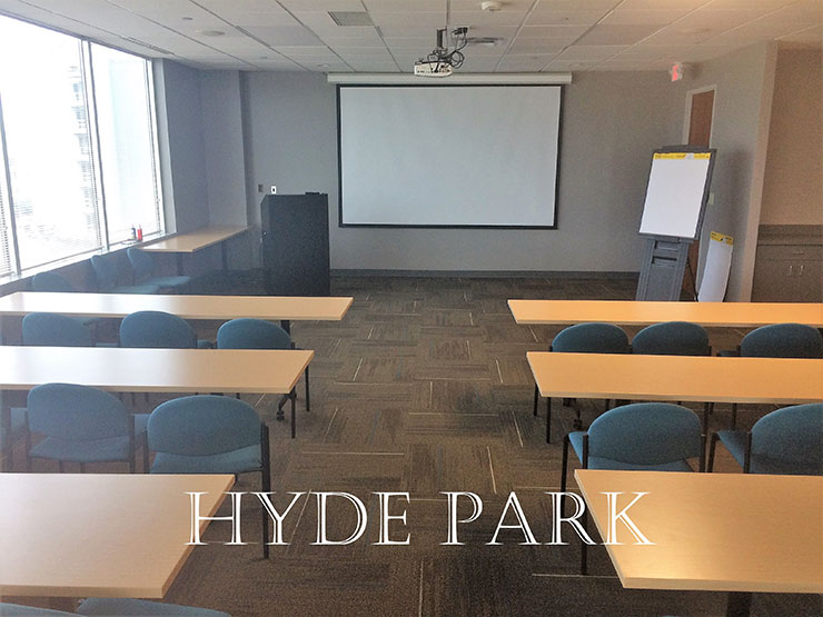 Hyde Park large conference room