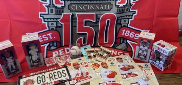 Cincinnati Reds package for Dayton Fundraiser 2019