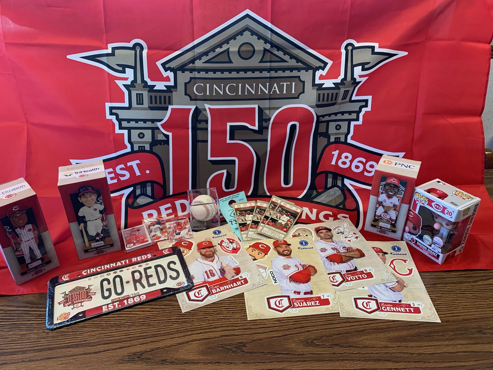 Cincinnati Reds package for Dayton Fundraiser 2019