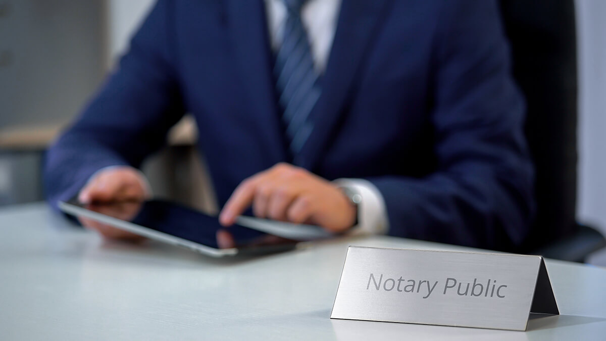 Online Notary in Ohio and Indiana